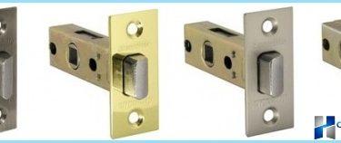 Types latch for interior doors