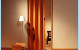 How to install Folding doors with their hands