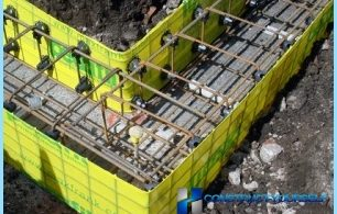 The formwork for the foundation with his own hands