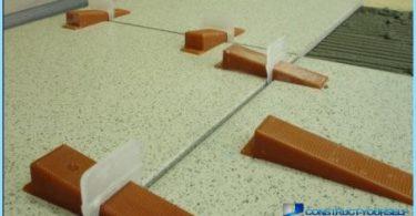Decorating the bathroom tiles (photo)