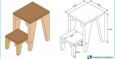A chair-stepladder: photos, videos, drawings