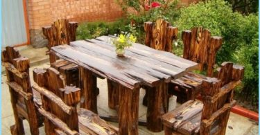 How to make a wooden cottage table