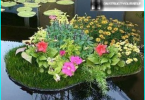 Mirrors in the garden as an original element of landscape design