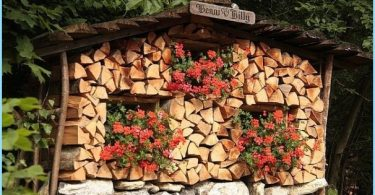 How to make a woodpile firewood