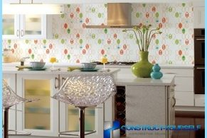 Options for kitchen wallpaper with photos