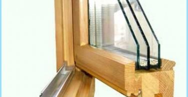 How to make wooden windows with double glazing