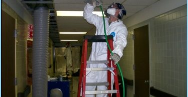 Disinfection of ventilation