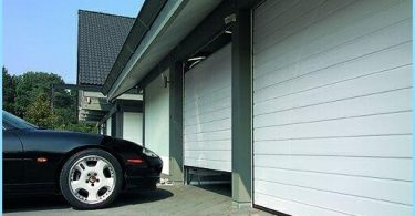 Sectional garage lift gates
