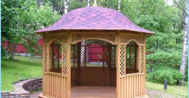 Make a gazebo in the country with their own hands: Photo & Video