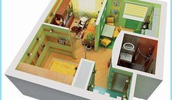 Как сделать перепланировку из однокомнатной квартиры в двухкомнатную