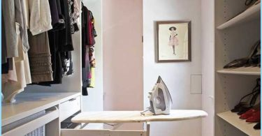 How to make a small dressing room with his hands