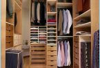 Design wardrobe small size of the room