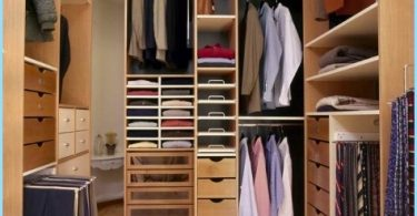 Design wardrobe small size of the room