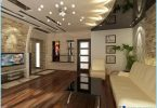Ceiling design for the living room