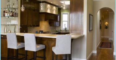 Kitchen with breakfast bar: Modern design