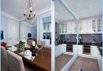 Kitchen Studio 20, 18, 16 sq. m. - Stylish modern design