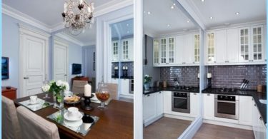 Kitchen Studio 20, 18, 16 sq. m. - Stylish modern design
