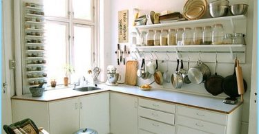 Kitchen design in hruschevke